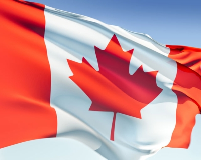 Visitors to Canada Insurance Flag