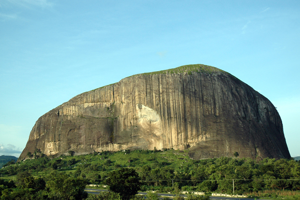 Zuma Rock in Abuja Nigeria