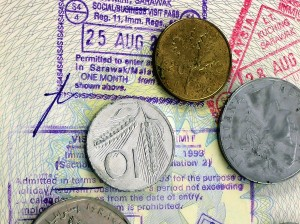 Change on an open passport