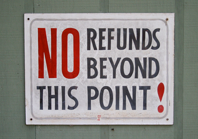 No Refunds By Ben Husmann