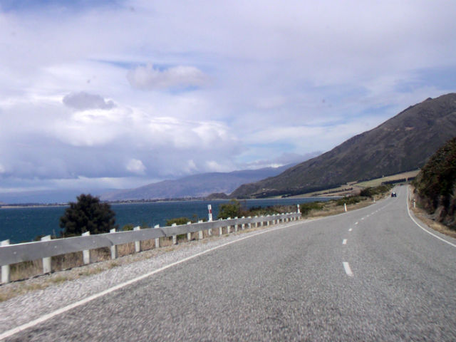 The open road in New Zealand