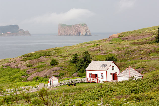 View Of Percé Rock From Bonaventure Island Andrea Schaffer By On Flickr