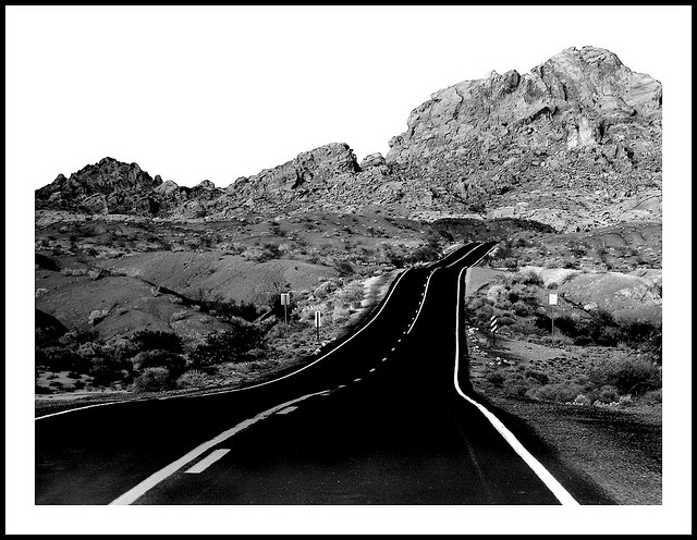 Black And White Road Trip By KariHak On Flickr