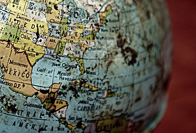 Globe closeup Photo by Calsidyrose on Flickr