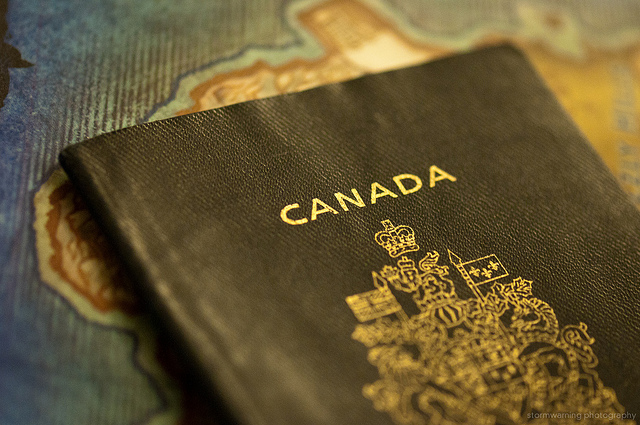 Canadian Passport Photo By Jeff Nelson On Flickr
